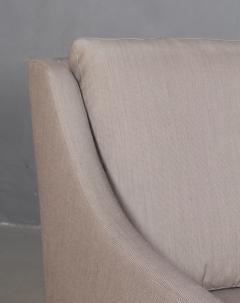 B rge Mogensen Borge Mogensen B rge Mogensen Three pers sofa model 2209 in gray Square fabric - 2099792