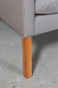 B rge Mogensen Borge Mogensen B rge Mogensen Three pers sofa model 2209 in gray Square fabric - 2099793
