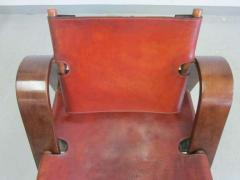 B rge Mogensen Borge Mogensen Danish Mid Century Modern Leather Strap Chair Attributed to Borge Mogensen - 1876840