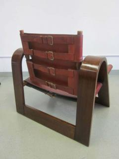 B rge Mogensen Borge Mogensen Danish Mid Century Modern Leather Strap Chair Attributed to Borge Mogensen - 1876843