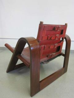 B rge Mogensen Borge Mogensen Danish Mid Century Modern Leather Strap Chair Attributed to Borge Mogensen - 1876844