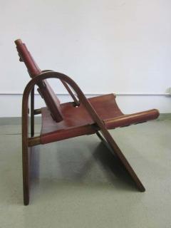 B rge Mogensen Borge Mogensen Danish Mid Century Modern Leather Strap Chair Attributed to Borge Mogensen - 1876852
