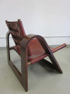 B rge Mogensen Borge Mogensen Danish Mid Century Modern Leather Strap Chair Attributed to Borge Mogensen - 1876862