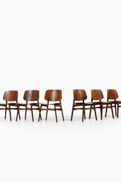 B rge Mogensen Borge Mogensen Dining Chairs Model 122 Shell Chair Produced by S borg M bler - 1986195