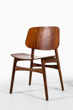 B rge Mogensen Borge Mogensen Dining Chairs Model 122 Shell Chair Produced by S borg M bler - 1986197