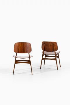 B rge Mogensen Borge Mogensen Dining Chairs Model 122 Shell Chair Produced by S borg M bler - 1986200