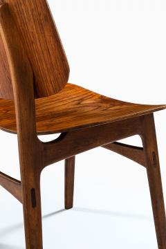 B rge Mogensen Borge Mogensen Dining Chairs Model 122 Shell Chair Produced by S borg M bler - 1986203