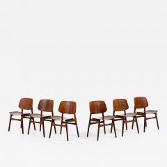 B rge Mogensen Borge Mogensen Dining Chairs Model 122 Shell Chair Produced by S borg M bler - 1987686