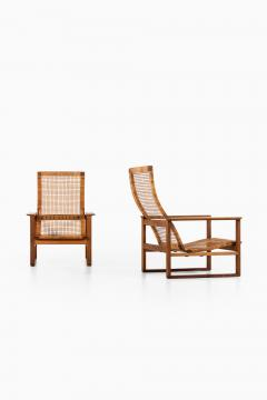 B rge Mogensen Borge Mogensen Easy Chairs Model BM 2254 Sl destolen Produced by Fredericia Stolefabrik - 1914807