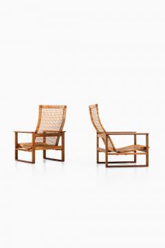 B rge Mogensen Borge Mogensen Easy Chairs Model BM 2254 Sl destolen Produced by Fredericia Stolefabrik - 1914809