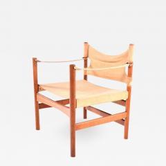 B rge Mogensen Borge Mogensen Mid Century Safari Chair by Borge Mogensen for Fredericia - 1657393