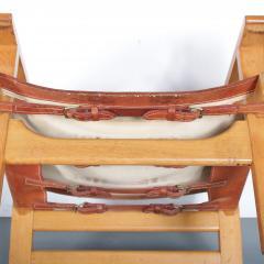 B rge Mogensen Borge Mogensen Pair of Spanish Chairs by B rge Mogensen for Fredericia Denmark 1960 - 1326481