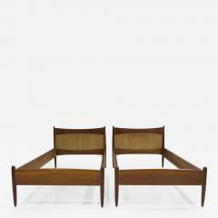 B rge Mogensen Borge Mogensen Pair of Teak Bed Frames by B rge Mogensen - 1439388