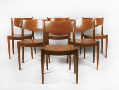 B rge Mogensen Borge Mogensen Set of Ten Dining Chairs for by Borge Mogensen for C M Madsens - 2140573