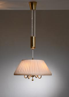BOR NS BOR S Bor ns brass and fabric height adjustable pendant - 1702784