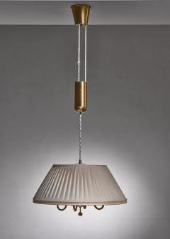 BOR NS BOR S Bor ns brass and fabric height adjustable pendant - 1702785