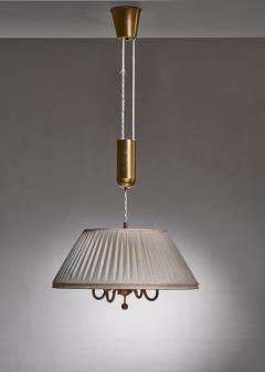 BOR NS BOR S Bor ns brass and fabric height adjustable pendant - 1702787