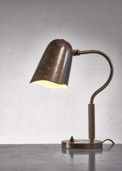 BOR NS BOR S Borens Boras brass table lamp - 1718959