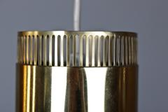 BOR NS BOR S Set of Five Swedish Pendants in Perforated Brass by Bor ns - 881165