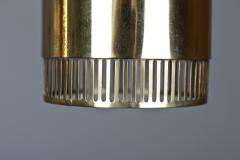 BOR NS BOR S Set of Five Swedish Pendants in Perforated Brass by Bor ns - 881167