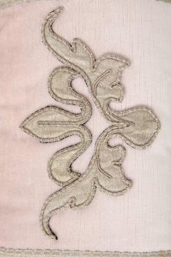 BViz Designs Pair of Blush Pink Velvet Pillows - 785671