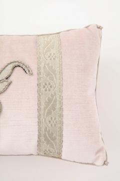 BViz Designs Pair of Blush Pink Velvet Pillows - 785672