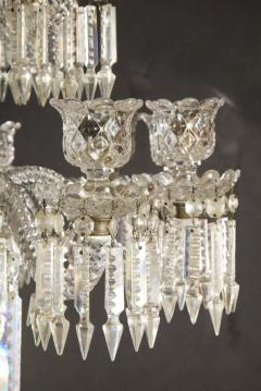 Baccarat Cristalleries De Baccarat A Large Pair of French Cut Crystal 18 Light Torcheres - 2138065