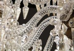 Baccarat Cristalleries De Baccarat A Large Pair of French Cut Crystal 18 Light Torcheres - 2138066