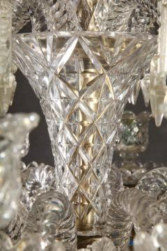 Baccarat Cristalleries De Baccarat A Large Pair of French Cut Crystal 18 Light Torcheres - 2138072