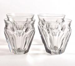 Baccarat Four Baccarat Harcourt Talleyrand Crystal Tumblers - 1024085