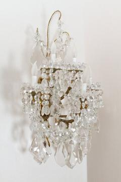 Baccarat L 16 Stunning Pair of Neoclassical Sconces by Baccarat - 259898
