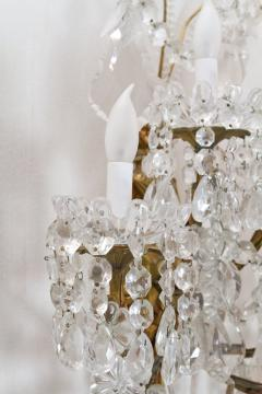 Baccarat L 16 Stunning Pair of Neoclassical Sconces by Baccarat - 259901