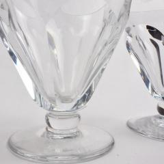 Baccarat Set of 24 Baccarat Crystal Talleyrand Wine Water and Liqueur Glasses - 2065724