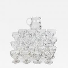 Baccarat Set of 24 Baccarat Crystal Talleyrand Wine Water and Liqueur Glasses - 2068830