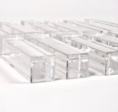 Baccarat Set of Twelve Baccarat Vega Crystal Knife Rests - 1023870