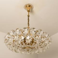 Bakalowits Sohne Bakalowits Sohne Crystal Chandelier Brass and Crystal Glass Austria 1960s - 981812