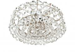 Bakalowits Sohne Pair of Large Crystal Drum Chandeliers - 216429