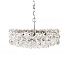 Bakalowits Sohne Pair of Large Crystal Drum Chandeliers - 216430