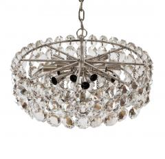 Bakalowits Sohne Pair of Large Crystal Drum Chandeliers - 216432