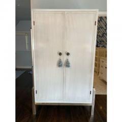 Baker Furniture Company Modern Laura Kirar for Baker Modern Cabinet W Custom Dry Bar Interior - 2126549