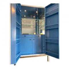 Baker Furniture Company Modern Laura Kirar for Baker Modern Cabinet W Custom Dry Bar Interior - 2126551