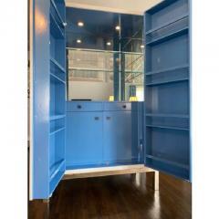 Baker Furniture Company Modern Laura Kirar for Baker Modern Cabinet W Custom Dry Bar Interior - 2126552