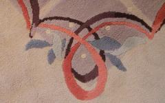 Baptistin Spade Baptistin Spade Rare Knotted Rug France 1950 - 792087