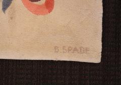 Baptistin Spade Baptistin Spade Rare Knotted Rug France 1950 - 792088
