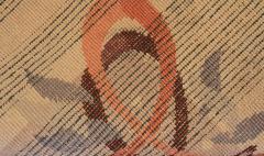 Baptistin Spade Baptistin Spade Rare Knotted Rug France 1950 - 792089