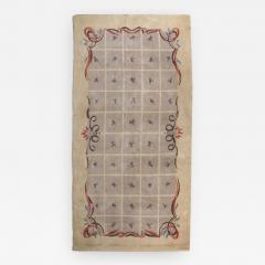Baptistin Spade Baptistin Spade Rare Knotted Rug France 1950 - 866729