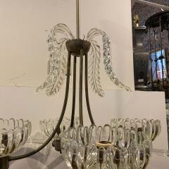 Barovier Toso 1950s Mid Century Modern Barovier Murano Glass Chandelier - 2080541