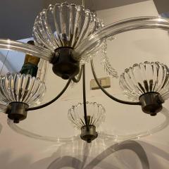 Barovier Toso 1950s Mid Century Modern Barovier Murano Glass Chandelier - 2080544