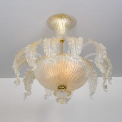 Barovier Toso Barovier Toso Murano Glass Chandelier 1960 - 1039348