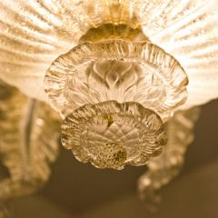 Barovier Toso Barovier Toso Murano Glass Chandelier 1960 - 1039349
